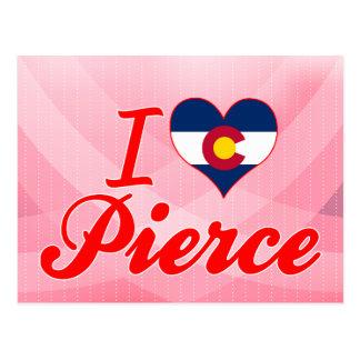 Amo a Pierce, Colorado Tarjetas Postales