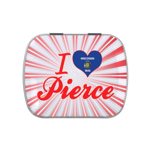Amo a Pierce, Wisconsin Frascos De Dulces