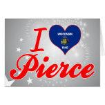Amo a Pierce, Wisconsin Tarjeton