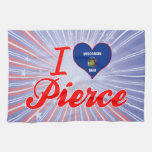Amo a Pierce, Wisconsin Toalla De Mano