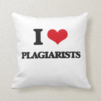 Amo a plagiarios cojines