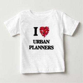 Amo a planificadores urbanos t-shirt