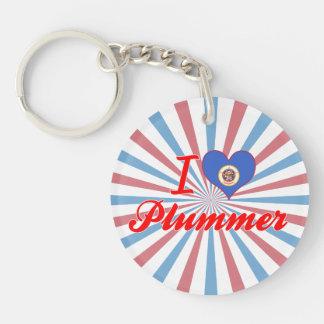Amo a Plummer, Minnesota Llaveros