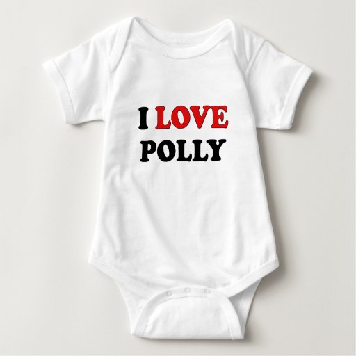 Amo a Polly Playeras