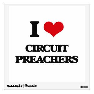 Amo a predicadores del circuito