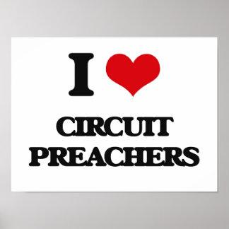 Amo a predicadores del circuito poster