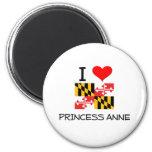 Amo a princesa Anne Maryland Imán