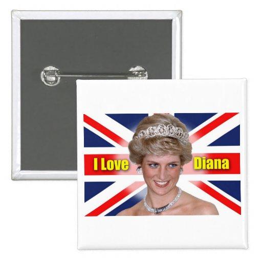 Amo a princesa Diana Pin
