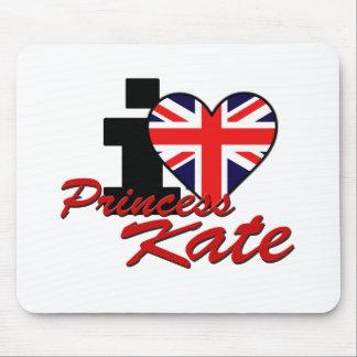 Amo a princesa Kate Alfombrillas De Ratones