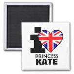 Amo a princesa Kate Magnet Imán De Frigorifico