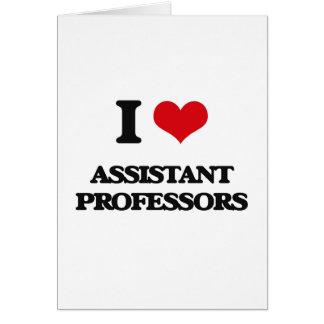 Amo a profesores adjuntos felicitaciones