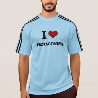 Amo a protagonistas camisetas