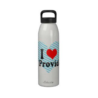 Amo a Providence del este Estados Unidos Botellas De Agua Reutilizables