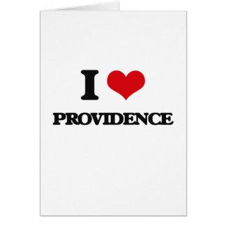 Amo a Providence Felicitacion