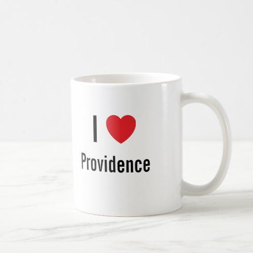 Amo a Providence Taza De Café