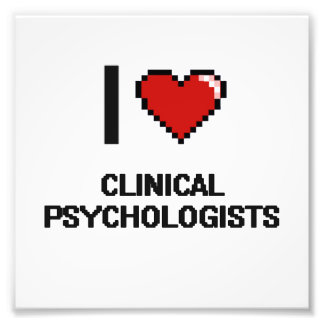 Amo a psicólogos clínicos fotografía