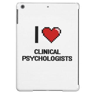 Amo a psicólogos clínicos funda para iPad air