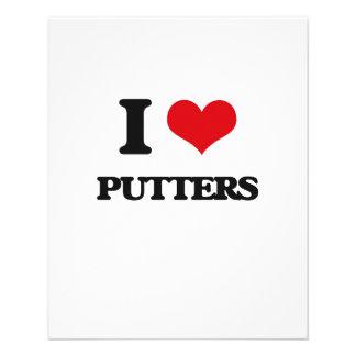 Amo a Putters Tarjetón