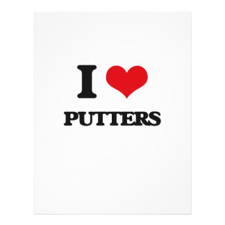 Amo a Putters Flyer Personalizado