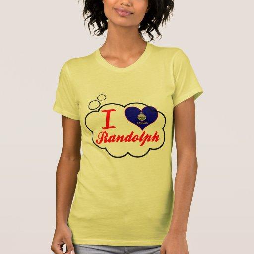 Amo a Randolph, Kansas Camisetas