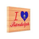 Amo a Randolph, Kansas Impresiones De Lienzo