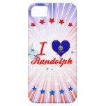 Amo a Randolph, Kansas iPhone 5 Fundas