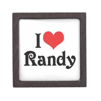 Amo a Randy Caja De Joyas De Calidad