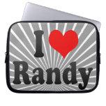 Amo a Randy Fundas Portátiles