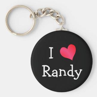 Amo a Randy Llavero Redondo Tipo Pin