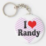 Amo a Randy Llaveros Personalizados