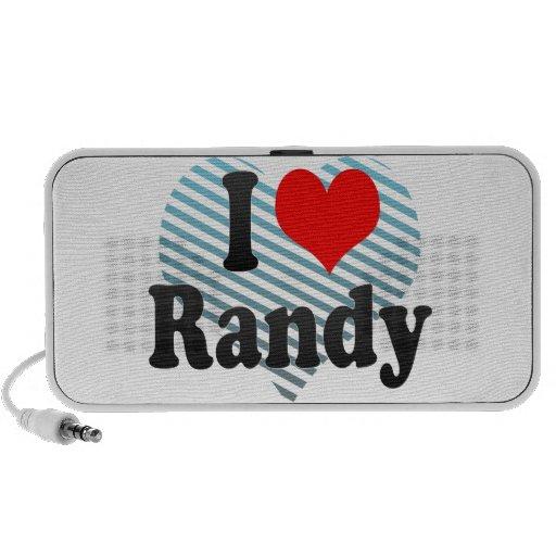 Amo a Randy Portátil Altavoz