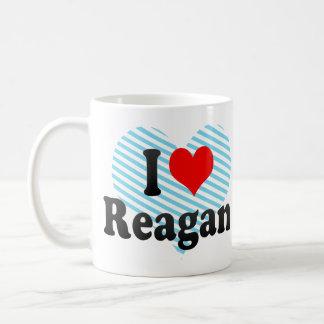 Amo a Reagan Taza