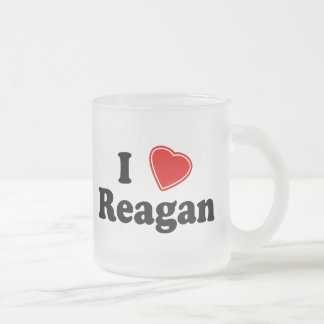 Amo a Reagan Taza De Café