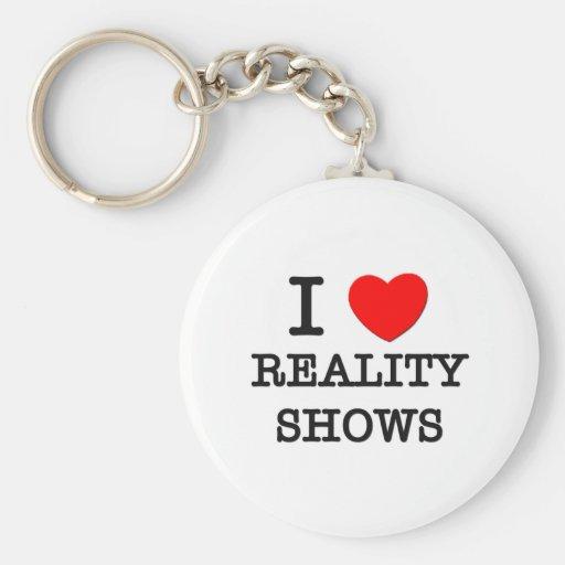 Amo a realitys show llavero