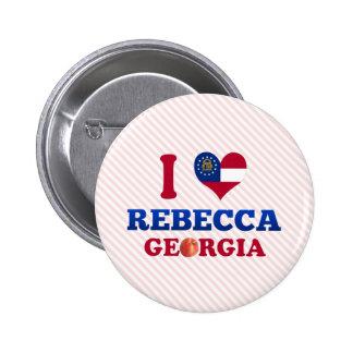 Amo a Rebecca, Georgia Pins