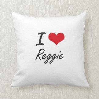 Amo a Reggie Almohadas