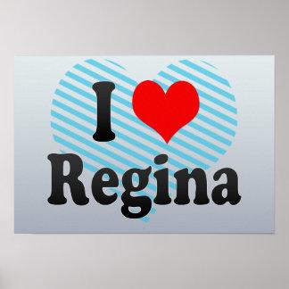 Amo a Regina Canadá Poster