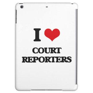 Amo a reporteros de corte