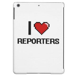 Amo a reporteros funda para iPad air