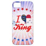 Amo a rey, Carolina del Norte iPhone 5 Cárcasas
