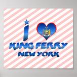 Amo a rey Ferry, Nueva York Impresiones