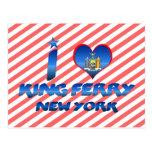 Amo a rey Ferry, Nueva York Postales