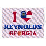 Amo a Reynolds, Georgia Tarjetas