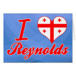 Amo a Reynolds, Georgia Tarjetón