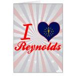 Amo a Reynolds, Indiana Tarjetón