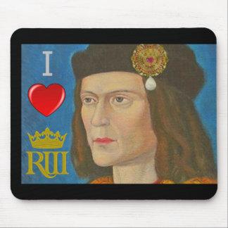 Amo a Richard III Alfombrilla De Ratón