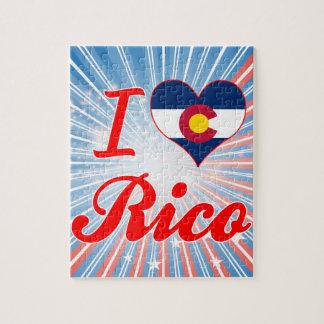Amo a Rico Colorado Puzzles