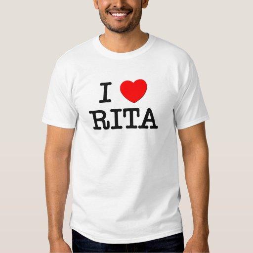 Amo a Rita Playera