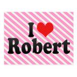 Amo a Roberto Tarjeta Postal