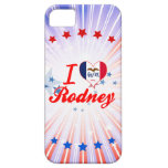 Amo a Rodney, Iowa iPhone 5 Protectores